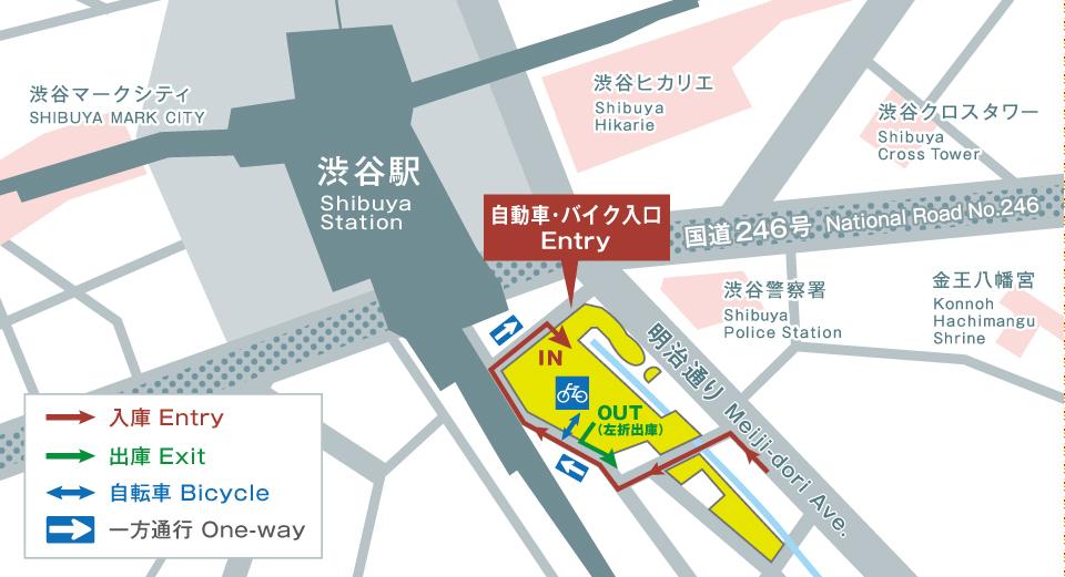 渋谷ストリーム 駐車場